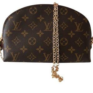 Louis Vuitton Monogram Canvas Cross Body Bag